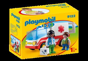 Sanitka s posádkou (1.2.3) 9122 Playmobil Playmobil