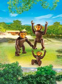 Šimpanzí rodina 6650 Playmobil Playmobil