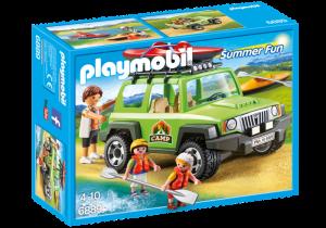 SUV 4x4 s kánoí 6889 Playmobil Playmobil