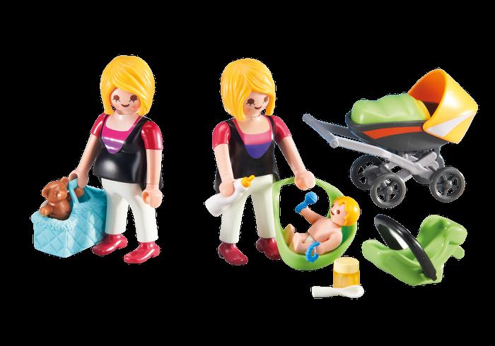 Těhotná a Maminka s dítětem 6447 Playmobil Playmobil
