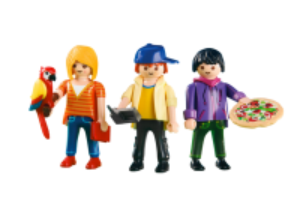 Tři Playmos 6298 Playmobil Playmobil