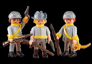 Tři vojáci konfederace 6276 Playmobil Playmobil