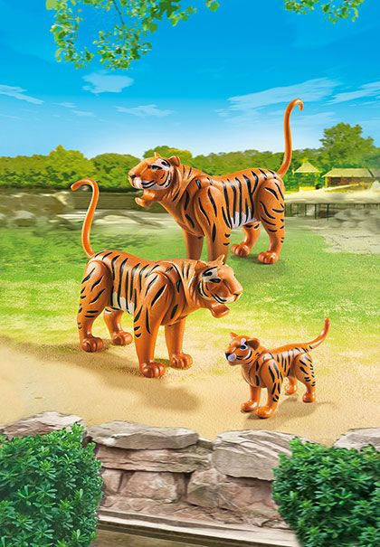 Tygří rodina 6645 Playmobil Playmobil