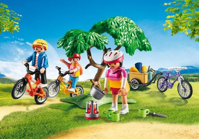 Výlet na horských kolech 6890 Playmobil Playmobil