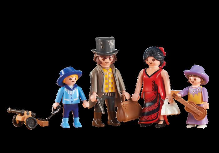 Western rodina 6323 Playmobil Playmobil