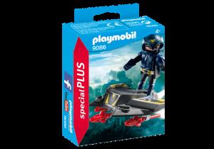 Agent s kluzákem 9086 Playmobil Playmobil