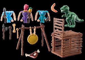Bojovníci Alien s pastí na T-Rexe 9006 Playmobil Playmobil