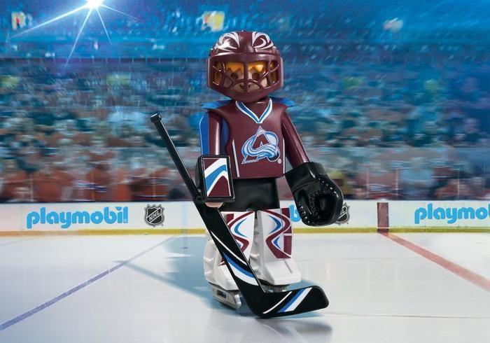 Brankář NHL Colorado Avalanche 9189 Playmobil Playmobil