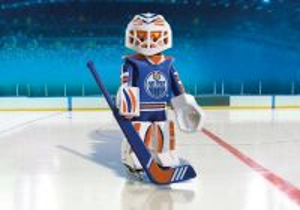 Brankář NHL Edmonton Oilers 9022 Playmobil Playmobil