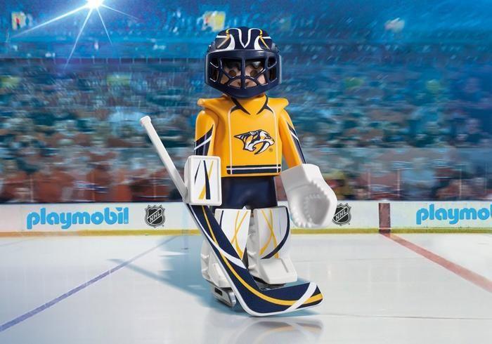 Brankář NHL Nashville Predators 9195 Playmobil Playmobil