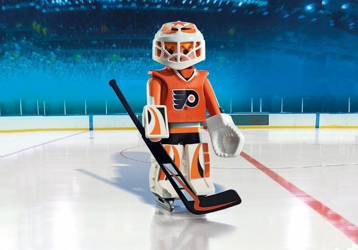 Brankář NHL Philadelphia Flyers 9032 Playmobil Playmobil