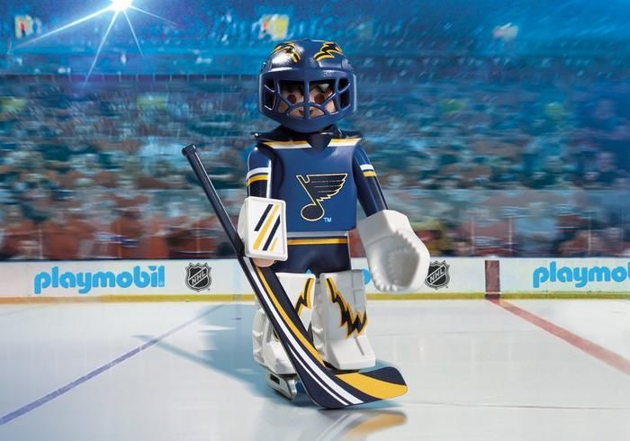 Brankář NHL St. Louis Blues 9183 Playmobil Playmobil