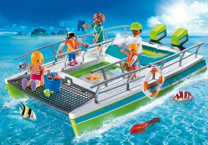 Člun s motorem 9233 Playmobil Playmobil