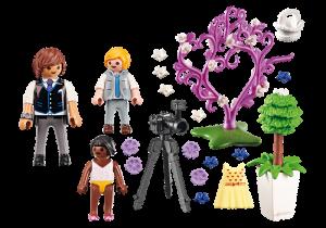 Fotograf s dětmi 9230 Playmobil Playmobil