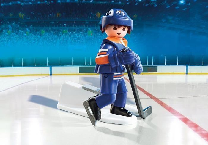 Hokejista NHL Edmonton Oilers 9023 Playmobil Playmobil