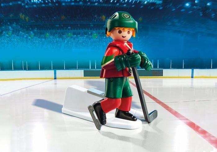 Hokejista NHL Minnesota Wild 9039 Playmobil Playmobil
