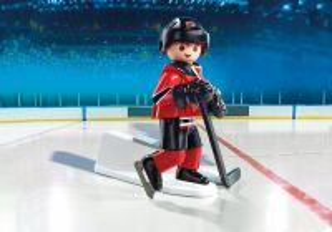 Hokejista NHL New Jersey Devils 9037 Playmobil Playmobil
