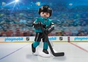 Hokejista NHL San Jose Sharks 9198 Playmobil Playmobil
