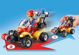 Horská záchranná čtyřkolka 9130 Playmobil Playmobil