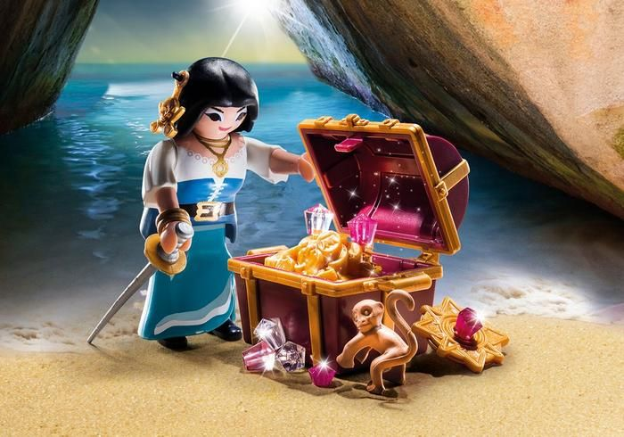 Pirátka s pokladem 9087 Playmobil Playmobil