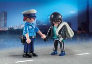 Policista a zloděj 9218 Playmobil Playmobil