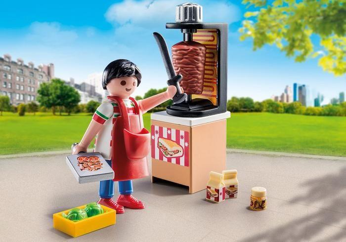 Prodavač kebabu 9088 Playmobil Playmobil