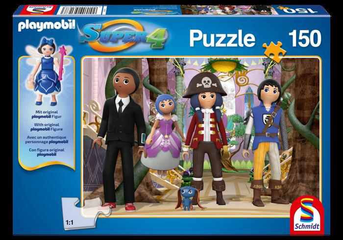 Puzzle Super4 - Čarovný ostrov 80708 Playmobil Playmobil