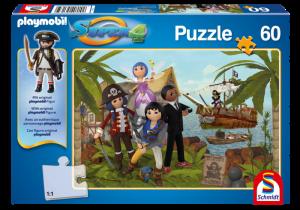 Puzzle Super4 - Pirátský ostrov 80706 Playmobil Playmobil