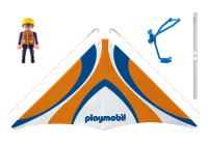 Rogalo oranžové 9205 Playmobil Playmobil