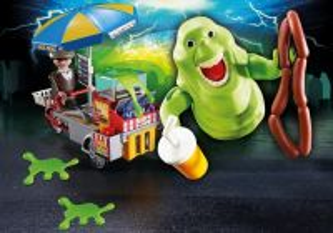 Slimer a stánek s hot dogy 9222 Playmobil Playmobil