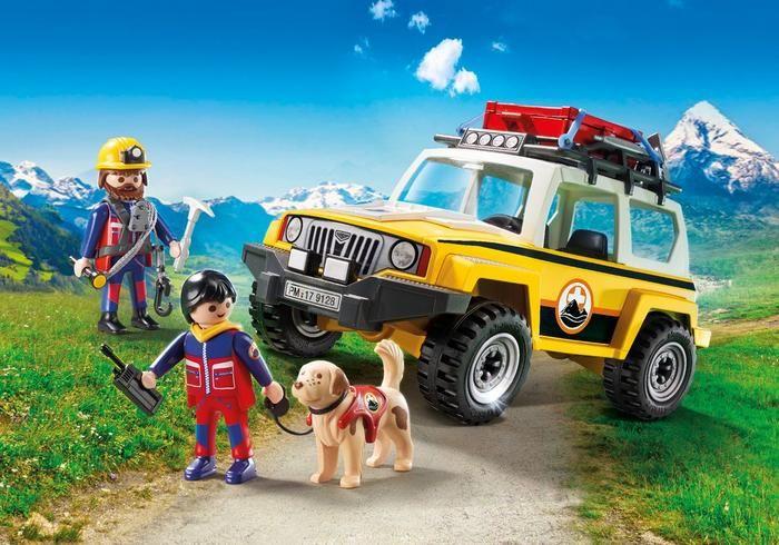 Terénní auto Horské služby 9128 Playmobil Playmobil