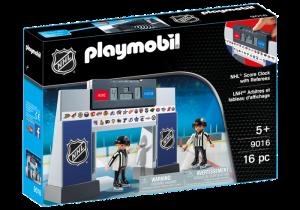 Ukazatel skóre a dva rozhodčí 9016 Playmobil Playmobil