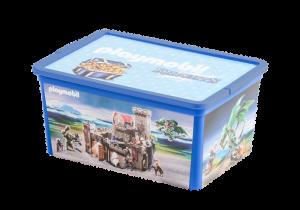 Úložný box 12 l pro kluky 80487 Playmobil Playmobil