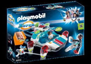Vesmírná loď Fulgurix s agentem Genem 9002 Playmobil Playmobil