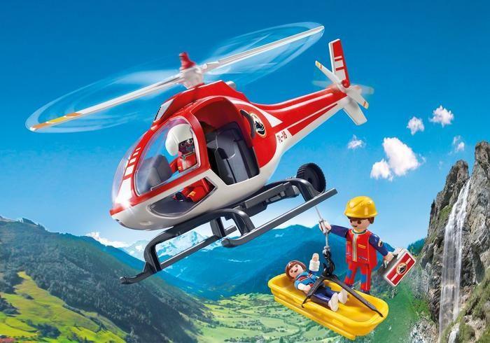Vrtulník Horské služby 9127 Playmobil Playmobil