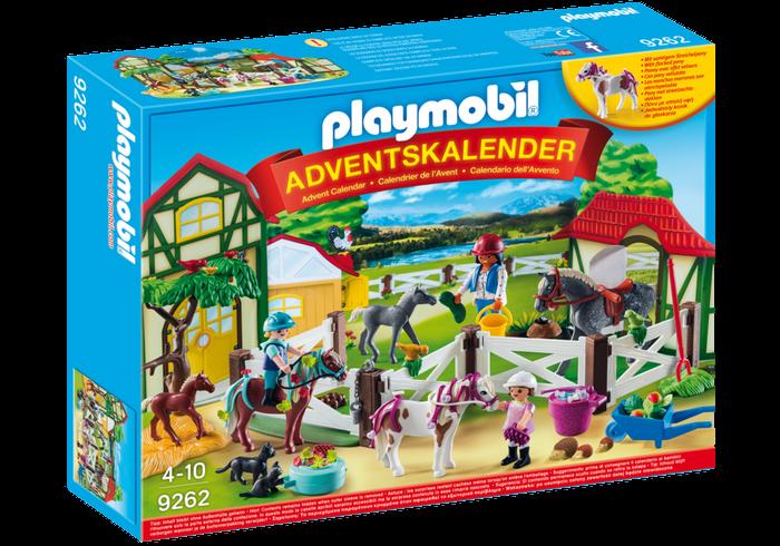 """Adventní kalendář """"Koňské stáje"""" 9262 Playmobil Playmobil"""
