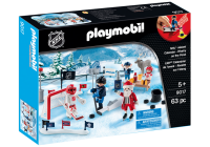 Adventní kalendář NHL 9017 Playmobil Playmobil