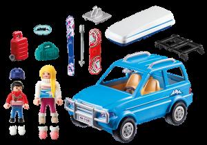 Auto se střešním boxem 9281 Playmobil Playmobil