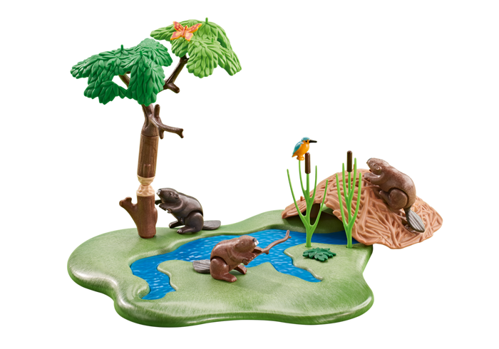Bobři u řeky 6541 Playmobil Playmobil