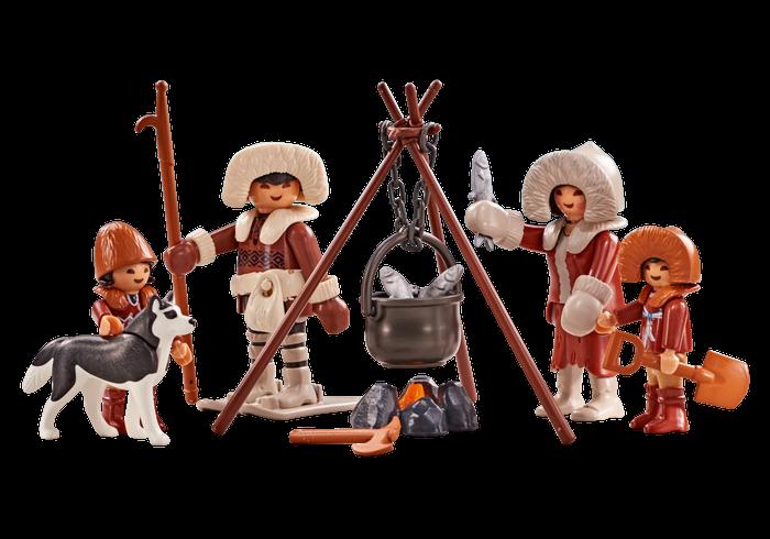 Eskymácká rodina 6559 Playmobil Playmobil