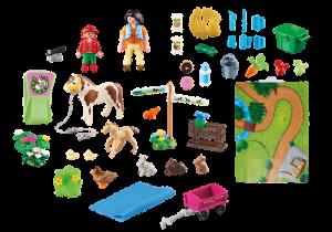 Herní mapa Koně 9331 Playmobil Playmobil