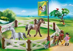 Koně v ohradě 6931