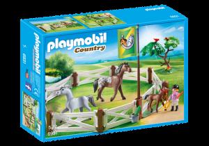 Koně v ohradě 6931 Playmobil Playmobil