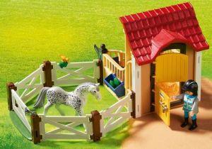 """Koňský box """"Appaloosa"""" 6935 Playmobil Playmobil"""