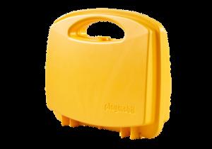 Kufr žlutý 6565