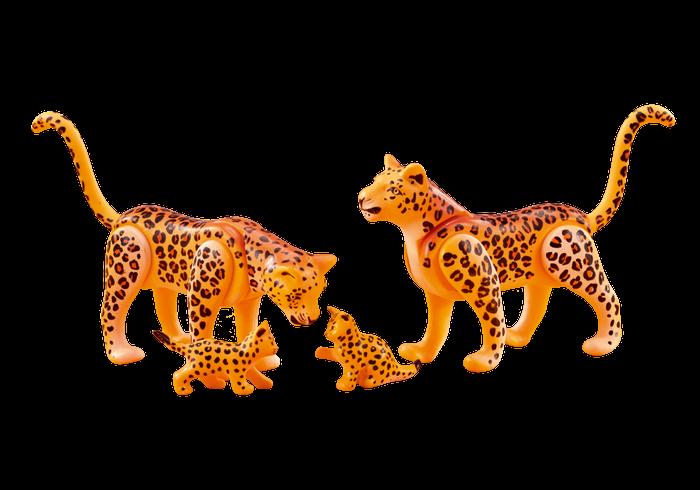 Leopardí rodina 6539 Playmobil Playmobil