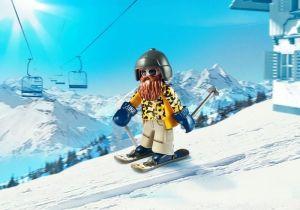 Lyžař na lyžích 9284