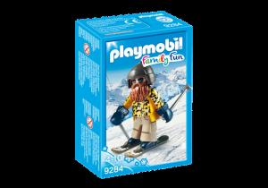 Lyžař na lyžích 9284 Playmobil Playmobil