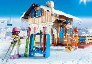Lyžařská chata 9280 Playmobil Playmobil