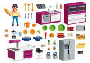 Moderní kuchyně 5582 Playmobil Playmobil